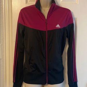 Adidas front zip Track Jacket